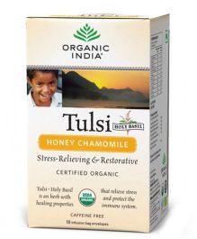 Organic India Tulsi Honey Chamomile - 18 Tea Bags