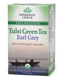 Organic India Tulsi Earl Grey Tea - 18 Tea Bags