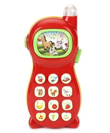 Smiles Creation Musical Phone Toy - Red