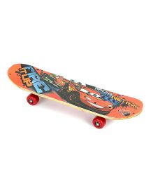 My Baby Excels Cars Skateboard - Multicolor