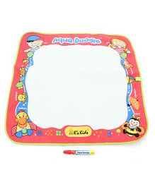 K's Kids Aqua Doodle Play Mat Set - Red & White