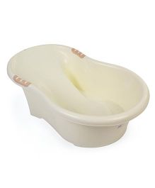 Baby Bath Tub Printed - Cream