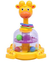 Happykids Giraffe Spinner For Toddlers - Multicolor