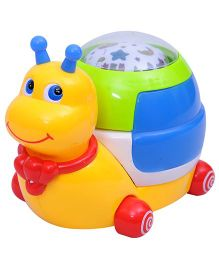 Happykids Snail With Projection Light Night Light And Music - Multicolor