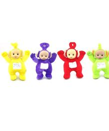 Kuhu Creation Teletubby Plush Toys  Multicolor - Set of 4