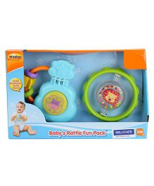 WinFun Baby's Rattle Fun - Pack Of 2