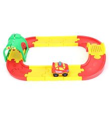 Winfun Go Go Drivers Car and Tunnel Track Set - Yellow