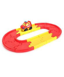 Winfun Go Go Drivers Car And Starter Track Set - 12 Pieces
