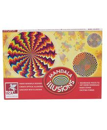 Toy Kraft Mandala Illusions Puzzle Set - 87 Pieces