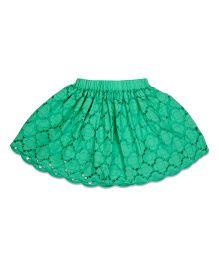 CrayonFlakes Anglaise Skirt - Green