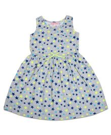 CrayonFlakes Twinkling Stars Dress - Light Grey