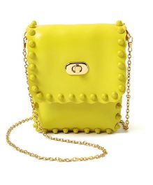 Little Hip Boutique Rectangular Sling Bag - Sunshine Yellow