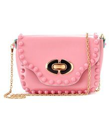 Little Hip Boutique Party Sling Bag - Bubble Gum Pink