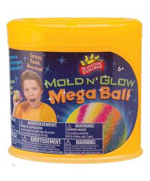 Scientific Explorer Mold N' Glow Mega Ball -  Multicolor