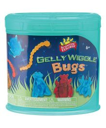 Scientific Explorer Gelly Wiggle Bugs - Multicolor