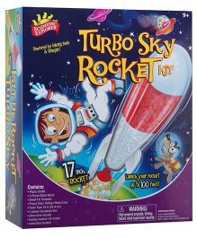 Scientific Explorer Turbo Sky Rocket - Multicolor