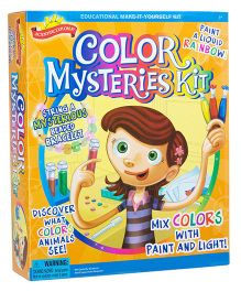 Scientific Explorer Color Mysteries Kit - Multicolor