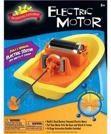 Scientific Explorer Electric Motor Mini Lab - Multicolor
