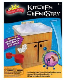 Scientific Explorer Kitchen Chemistry Mini Lab - Multicolor