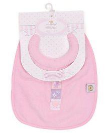 Piccolo Bambino Milk Feeding Bib - Pink