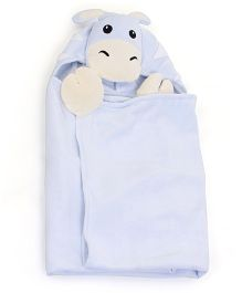 Piccolo Bambino Baby Bath Set Light Blue - 4 Pieces