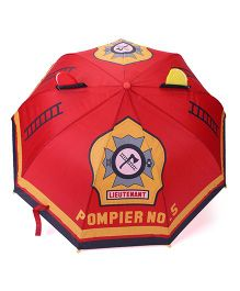 Abracadabra 3D Pop Up Umbrella Red - 57 cm