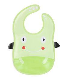 Abracadabra Bib Frog Design - Green