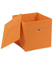 Abracadabra Storage Box With Lid - Orange