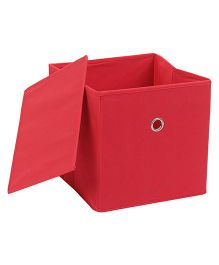 Abracadabra Storage Box With Lid - Red