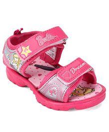 Barbie Sandals - Pink & Grey