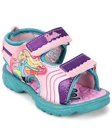 Barbie Sandals - Pink & Green