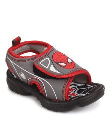 Spider Man Sandals Dual Color - Grey And Red