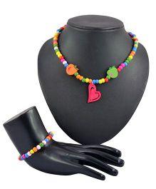 Angel Glitter 2 Piece Jewelry Set - My Sugary Sweet Heart