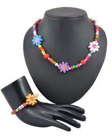 Angel Glitter 2 Piece Jewelry Set - Gather The Beautiful Flowers