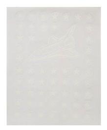 Ratnas Glow In Dark Magic Star Stickers - White