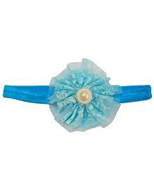 Tickles 4 U Elastic Headband - Sky Blue