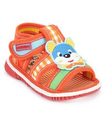 Cute Walk by Babyhug Sandals Animal Motif - Orange