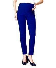 Nine Maternity Ankle Length Leggings - Blue