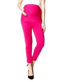 Nine Maternity Ankle Length Leggings - Pink