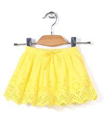 Vitamins Hakoba Skirt - Yellow