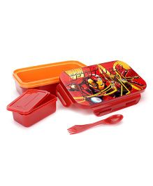 Marvel Incredible Iron Man Lunch Box - Maroon