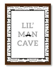 The Joy Factory Lil' Man Cave Frame - Black & White