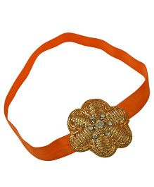 Tiny Closet Flower Headband - Orange