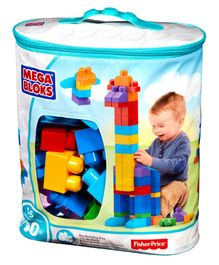 First Builders Big Building Bag 80 Pieces - Multicolor