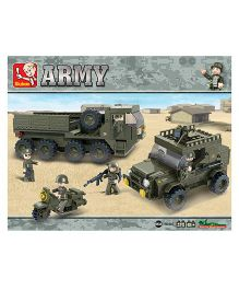 Sluban Lego Toys Army Set - Green