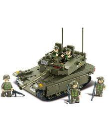Sluban Lego Toys Tank - Green