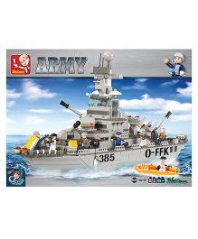 Sluban Lego Sub Marin Construction Sets - Grey