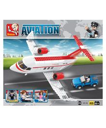 Sluban Private Airplane Construction Sets - White