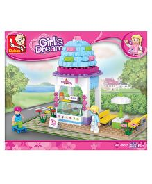 Sluban Lego Ice Cream Shop