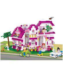 Sluban Lego Seaside Villa Set